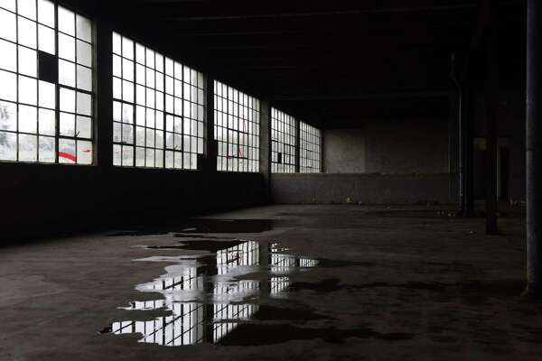 Interior of the former Beech-Nut factory on Tuesday, Oct. 20, 2020, in Canajoharie, N.Y. (Will Waldron/Times Union)