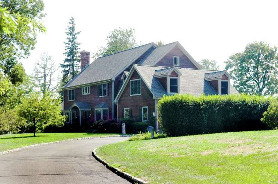 The home of Mayor Michael Pavia and his wife Maureen, photographed Tuesday, August 30, 2010, sits on a little more than an acre at 20 Davenport Farm Lane East. The 3 bedroom home is on the market for $1.295 million. Photo: Keelin Daly / Stamford Advocate