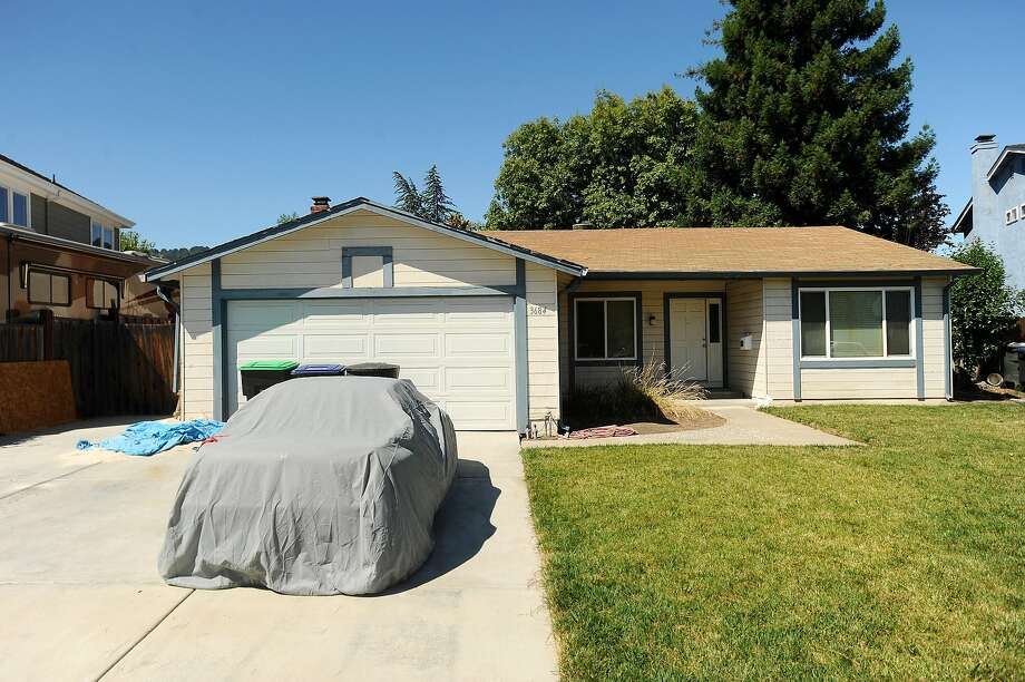 The home of Tina Faelz's family in Pleasanton on Aug. 8, 2011, the day authorities announced they had arrested a former classmate for suspected of killing the 14-year-old student in 1984. Photo: Noah Berger / Special To The Chronicle 2011