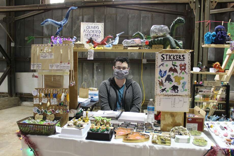 Vendors from around the Panhandle and South Plains showcased handcrafted wonders at last weekend's annual Running Water Draw Arts and Crafts Festival. Photo: Ellysa Harris/Plainview Herald