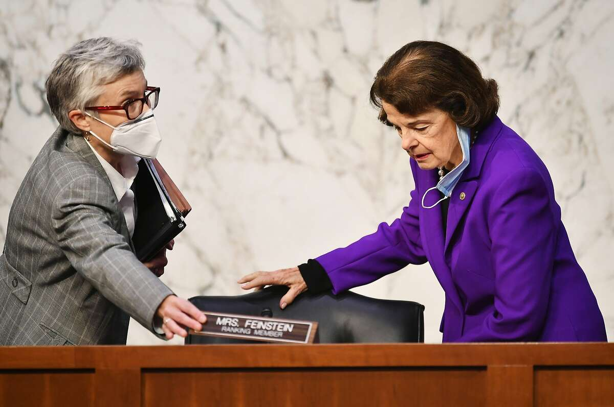 Sen. Dianne Feinstein, D-Calif., is being called on to resign from the Judiciary Committee.