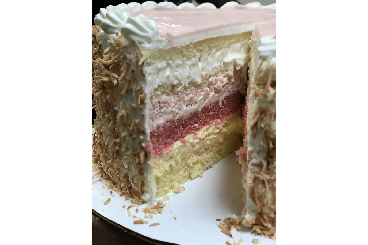 Ono Bakehouse plans to eventually sell Queen Emma Cake, which features several layers of cake and mousse flavored with passion fruit, guava and coconut. The bakery from Desiree Valencia is expected to open in November in Berkeley.