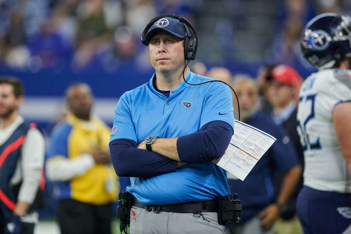 Titans offensive coordinator Arthur Smith has turned heads in the NFL with the job he has done in Tennessee.