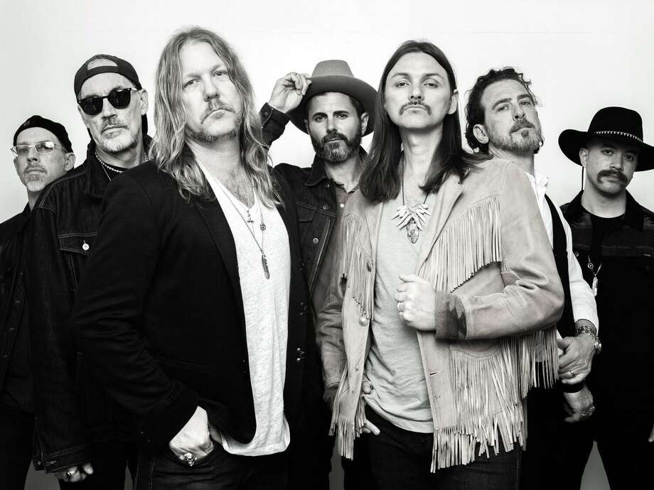You can see The Allman Betts Band perform in an outdoor show at South Farm in Morris at 6 p.m. Oct. 22. Photo: Allman Betts Band / Contributed Photo