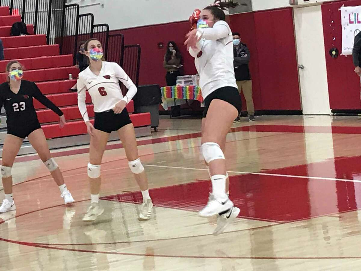 Greenwich senior Lilly Saleeby is one of the Cardinals' captains.