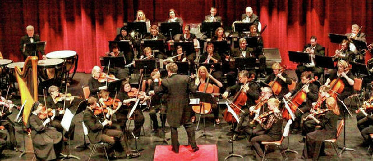 Alton Symphony Orchestra has 55 members of all ages.