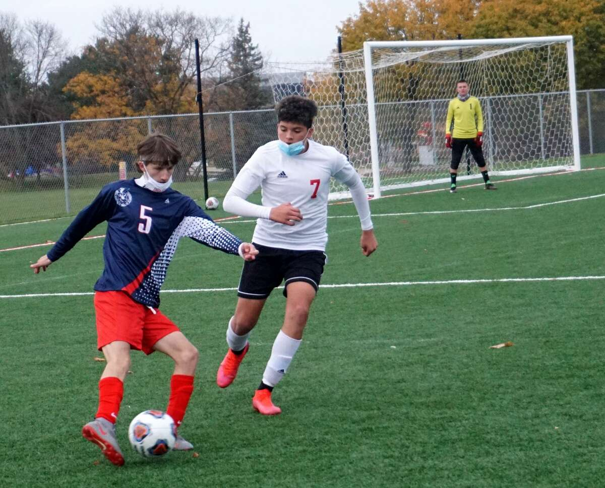 Big Rapids defeated Hart 2-0 on Tuesday night.