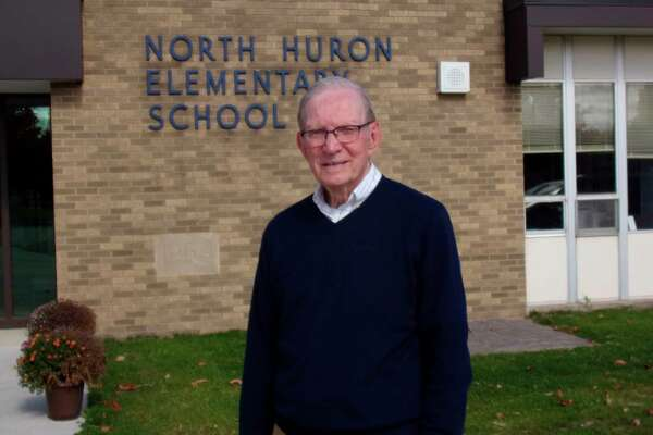 Carl Dickinson stayed with the Kinde school system for more than 30 years. (Rich Harp/For the Tribune)