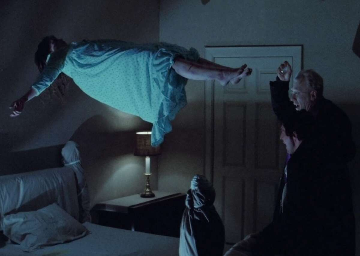 """Possession: The Exorcist (1973) - Director: William Friedkin - IMDb user rating: 8.0 - Metascore: 81 - Runtime: 122 minutes This iconic film received 10 Academy Award nominations and was the first horror movie to be nominated for Best Picture. Loosely based on real events, """"The Exorcist"""" follows two priests (Jason Miller and Max von Sydow) who attempt to help a girl (Linda Blair) who has seemingly been possessed by the devil. It's combination of spiritual horror and visceral effects makes it a perennial contender for scariest movie of all time."""