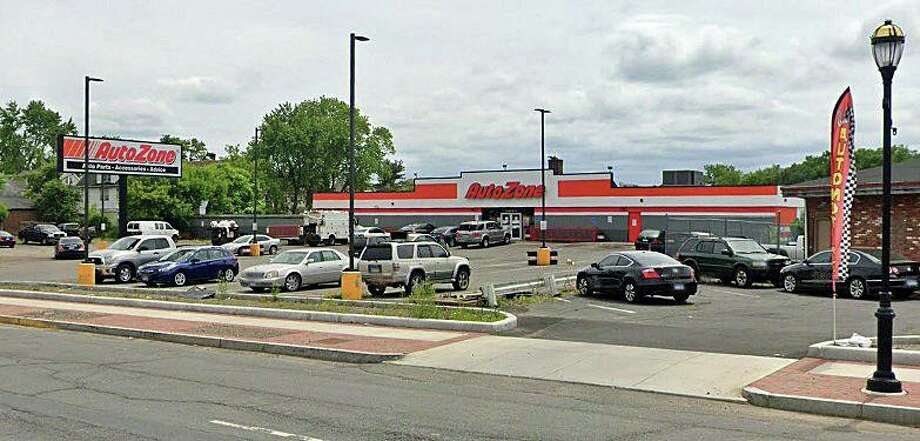 A 48-year-old Windsor man was pronounced dead about about an hour later after he was found shot in an Auto Zone parking lot at 1487 Albany Ave. in Hartford early Tuesday night on Oct. 21, 2020. The victim was identified as identified as Trevor Cumberbatch , 48, of Windsor. Photo: Google Street View Image