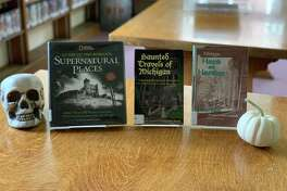 "Ghost hunters will love ""Michigan Haunts and Hauntings"" by Marion Kuclo, ""Haunted Travels of Michigan"" by Kathleen Tedsen and ""National Geographic Guide to the World's Supernatural Places"" by Sarah Bartlett. (Courtesy photo)"
