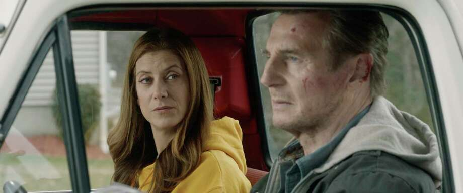 """This image released by Open Road Films shows Kate Walsh and Liam Neeson in a scene from """"Honest Thief."""" Photo: Open Road Films Via Associated Press / Open Road Films"""