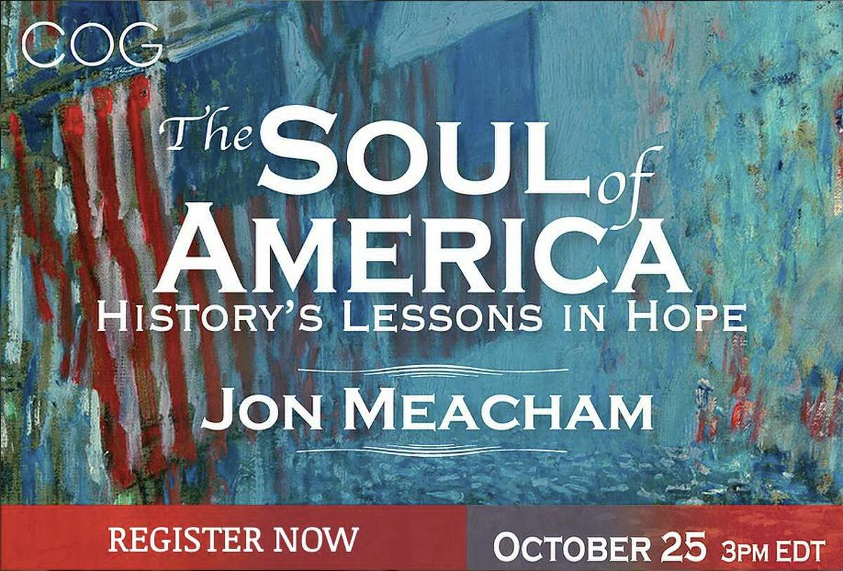 Jon Meacham is the guest for the next Conversations on the Green in Washington.