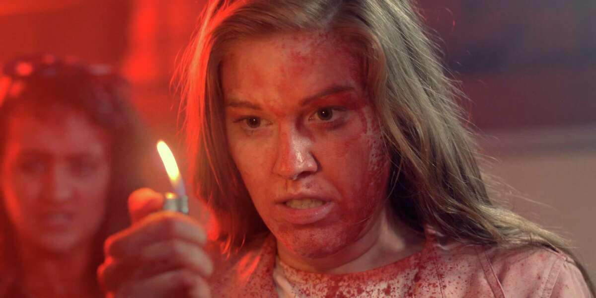 """A killer refuses to stay dead in one segment of the Shudder horror anthology """"Scare Package."""""""