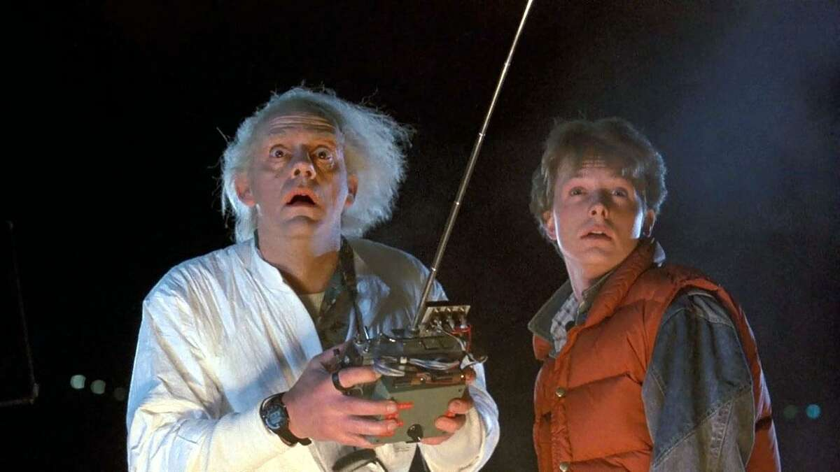 """The original """"Back to the Future,"""" starring Michael J. Fox and Christopher Lloyd, turns 35 this year."""