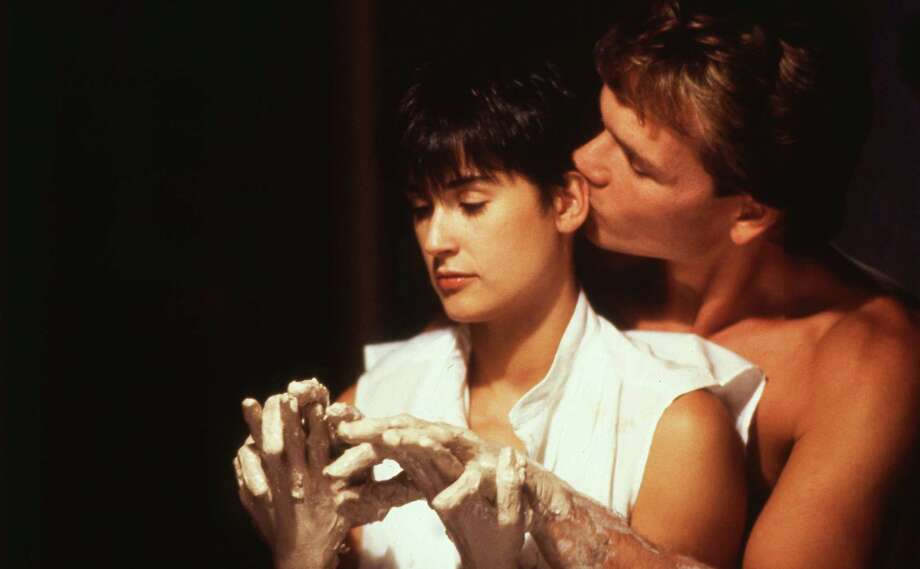 Ghost (30th anniversary), starring Demi Moore and Patrick Swayze will be shown at the Ridgefield Playhouse Oct. 24, at 4 p.m. Photo: Paramount Pictures / handout slide