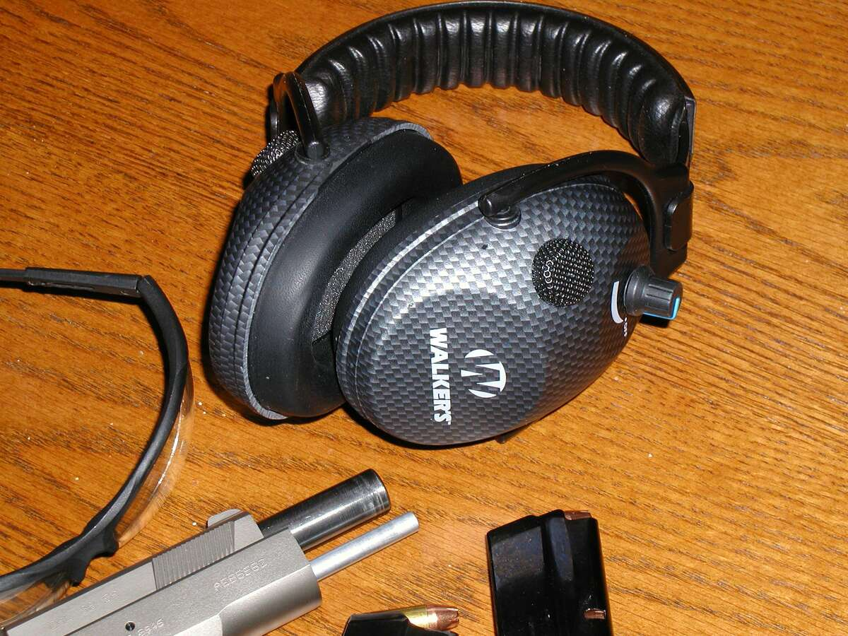 The pictured Walker electronic hearing protection has served me well for many years.