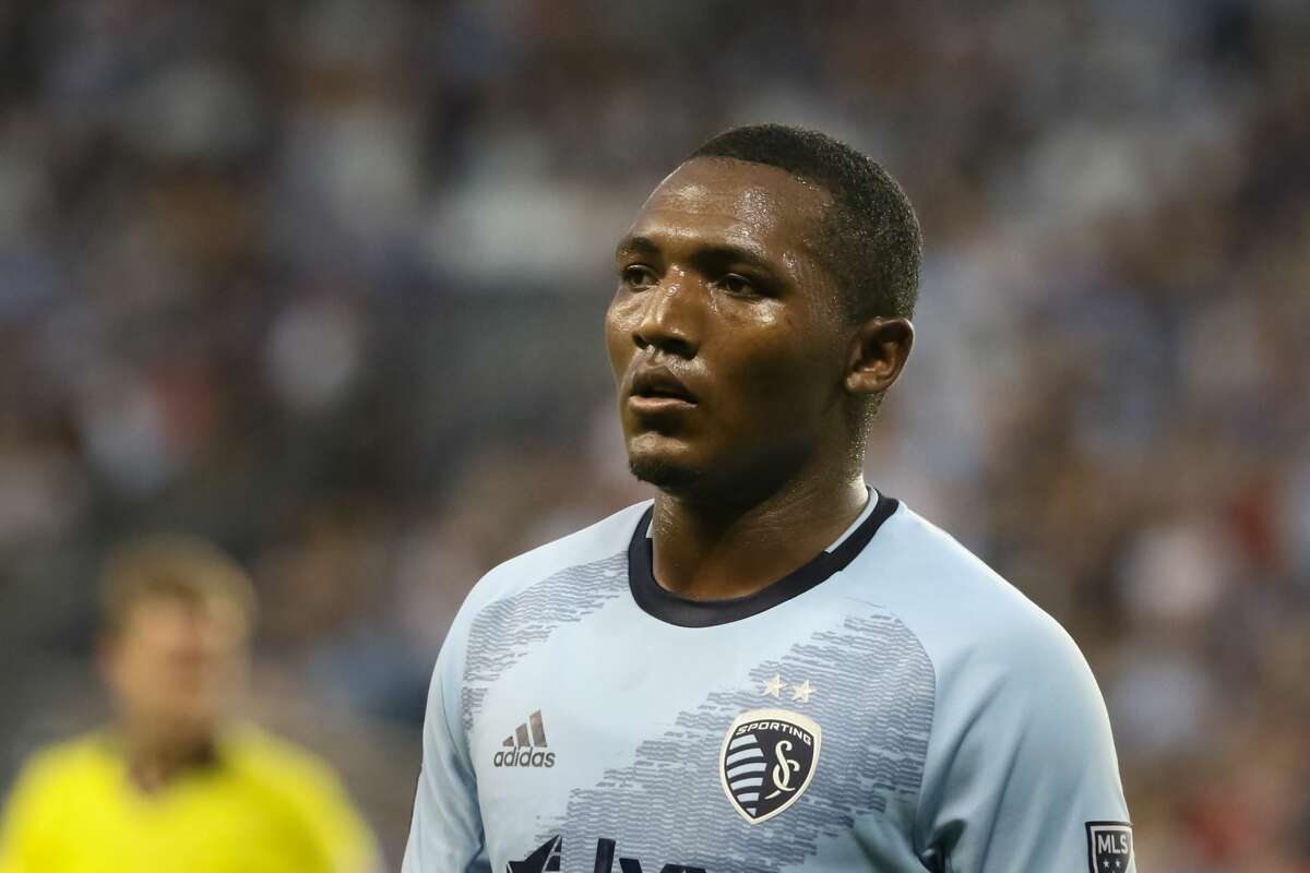 KANSAS CITY, KS - AUGUST 17: Sporting Kansas City midfielder Jimmy Medranda (94) in the first half of an MLS match between the San Jose Earthquakes and Sporting Kansas City on August 17, 2019 at Children's Mercy Park in Kansas City, KS. (Photo by Scott Winters/Icon Sportswire via Getty Images)