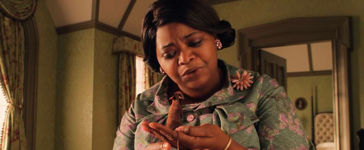 """This image released by Warner Bros. Entertainment shows Octavia Spencer in a scene from """"The Witches."""""""