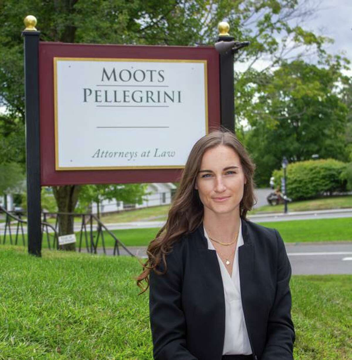 Attorney Jessica Cochrane, a New Milford High School graduate, is part way through her first year at the law firm of Moots Pellegrini in New Milford.