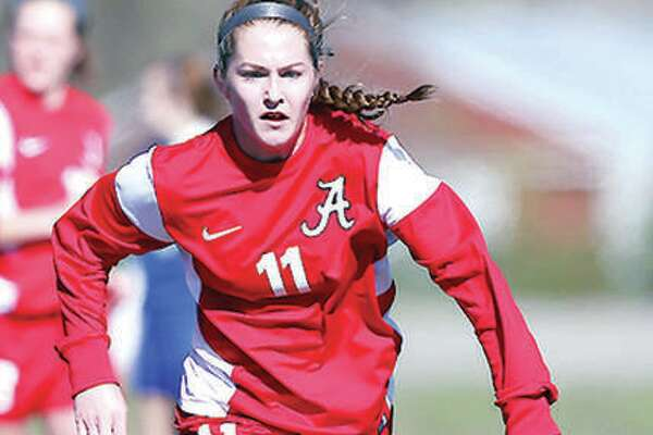 Former Alton High School All-Stater Brianna Hatfield was also a standout club soccer player for the Scott Gallagher Soccer Club during her prep days, but was unable to be on both her club roster and high school roster at the same time. A Monday decision by the IHSA will allow the practice because of the rearranging of prep schedules caused by the COVID-19 pandemic. Hatfield went on to play at Saint Louis University
