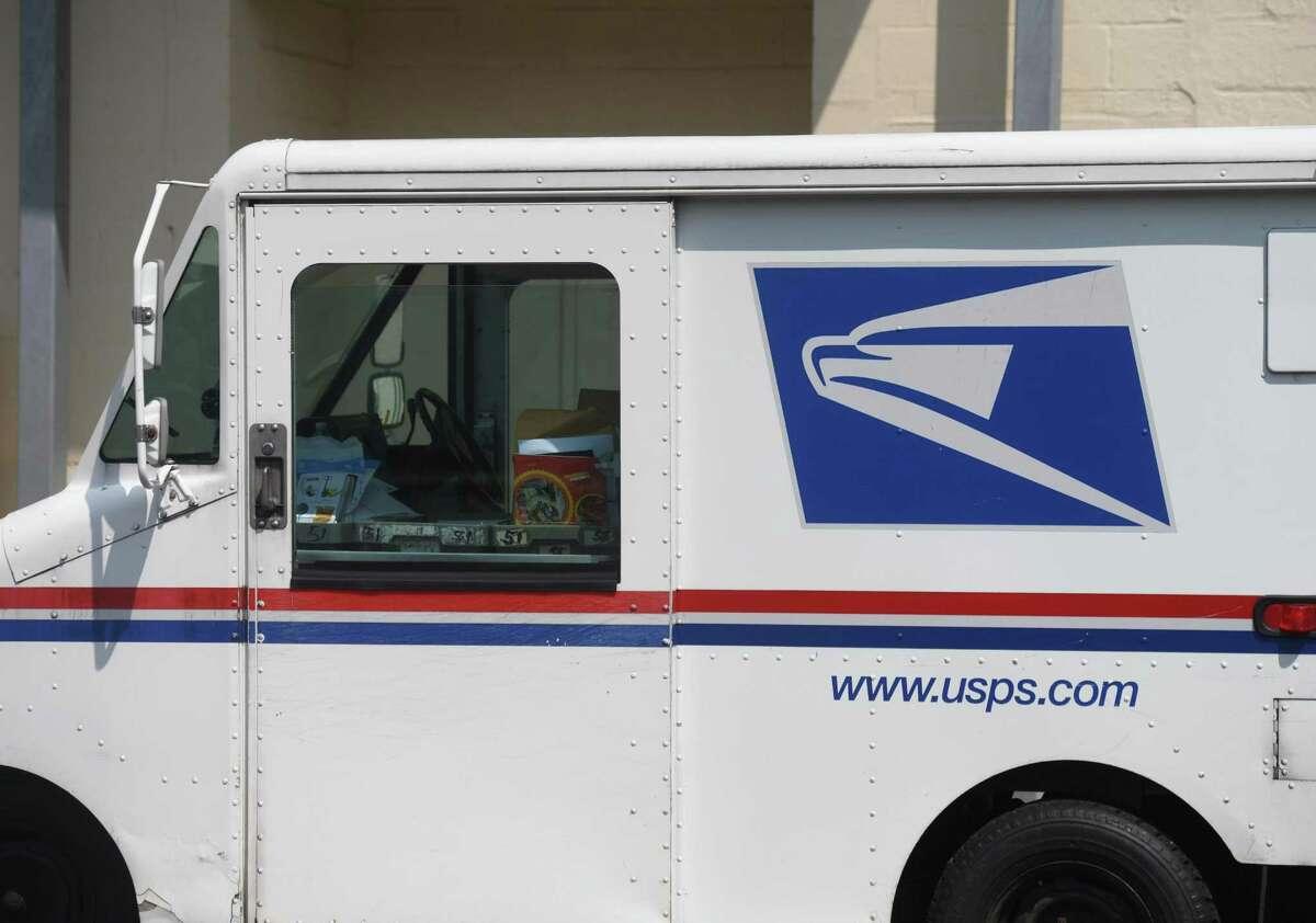 File photo of a U.S. Postal Service truck.