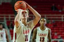 The University of the Incarnate Word Cardinals came to Beaumont to take on the hometown Cardinals of Lamar on Wednesday, February 26, 2020. Fran Ruchalski/The Enterprise