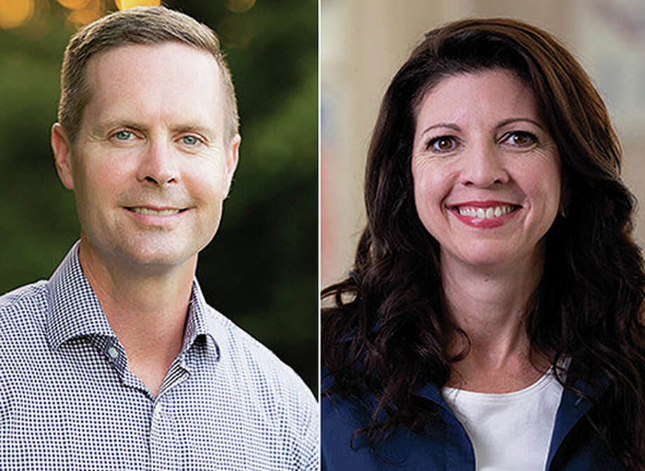 Incumbent Rodney Davis, a Republican, is seeking to retain his seat in Illinois' 13th Congressional District against a challenge from Betsy Dirksen Londrigan. Photo: Journal-Courier