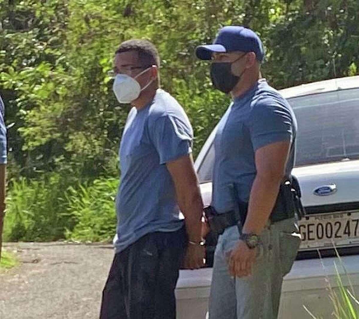 Davis Omar Roman Villanueva, 32, was taken into custody in Puerto Rico in connection with a Oct. 4, 2020, homicide in Meriden, Conn.