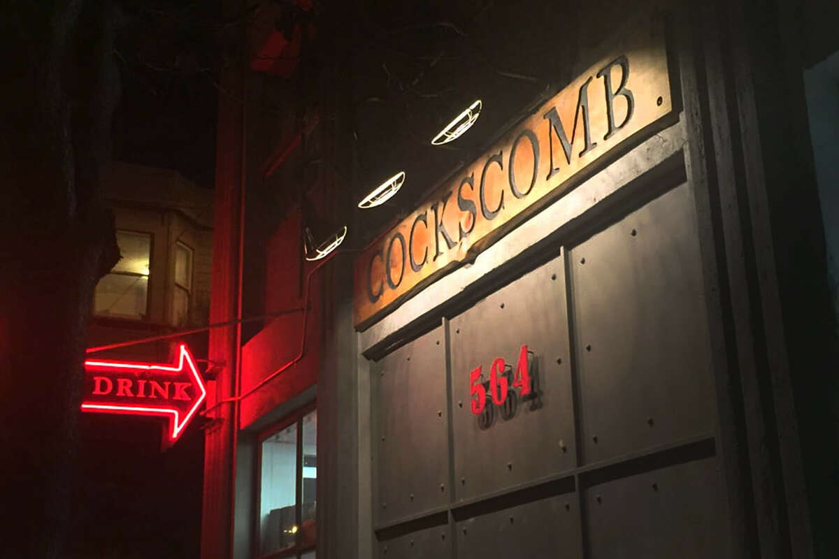 The exterior of Cockscomb in San Francisco, the restaurant from chef Chris Cosentino. Cosentino announced Tuesday that the restaurant will be closing for good.