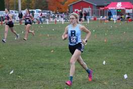 Cross country runners from Bear lake and Brethren compete at pre-regionals on Oct. 21 at Benzie Central.