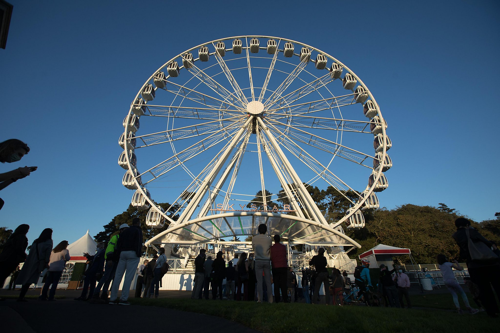 I rode the new Ferris wheel in Golden Gate Park. Here's what it was like