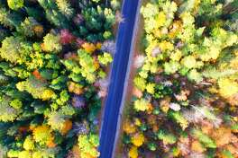 Stunning fall drives in every state America's interstate system makes it relatively quick to dash from coast to coast-at least compared to the Lewis and Clark days. By some estimates, a cross-country road trip can be done in less than a week-if you're willing to drive around 10 hours a day. But this time of year, you'd be making a big mistake if you didn't slow down and soak up the scenery. The reds, yellows, and oranges of the foliage blanket parts of the country for just a few short weeks. Plus, there are pumpkin patches, apple orchards, and all kinds of fall fun to make the journey even more memorable. While people often plan major vacations far from home during leaf-peeping season, the coronavirus pandemic has put a damper on many travelers' usual plans. That doesn't mean you have to miss out on this seasonal show, though. Every state has at least one fantastic drive through gorgeous autumnal scenery that is sure to make your jaw drop. To help you have a safe and socially distanced adventure close to home, Stacker compiled a list of stunning fall drives in every state. We looked at information from news outlets, travel publications, and local and state tourism boards to come up with 50 road trips to consider taking in the fall. New England is arguably the quintessential place for fall color in the country. There, join thousands of other drivers on New Hampshire's Kancamagus Highway, or watch the sunrise cast a glow on the foliage along Maine's Acadia Byway. However, it's certainly not the only place in the United States for a great fall drive. Alabama's Fall Color Trail is dedicated to showcasing the beautiful scenery this time of year, Wyoming's Flaming Gorge-Green River Basin Scenic Byway features 100 miles of tree-lined mountain peaks, and California's Everitt Memorial Highway will take you up a forested volcano engulfed in color. There's truly no state without a road trip worth taking this time of year. Ready to hit the road for an autumnal adventure? Click 