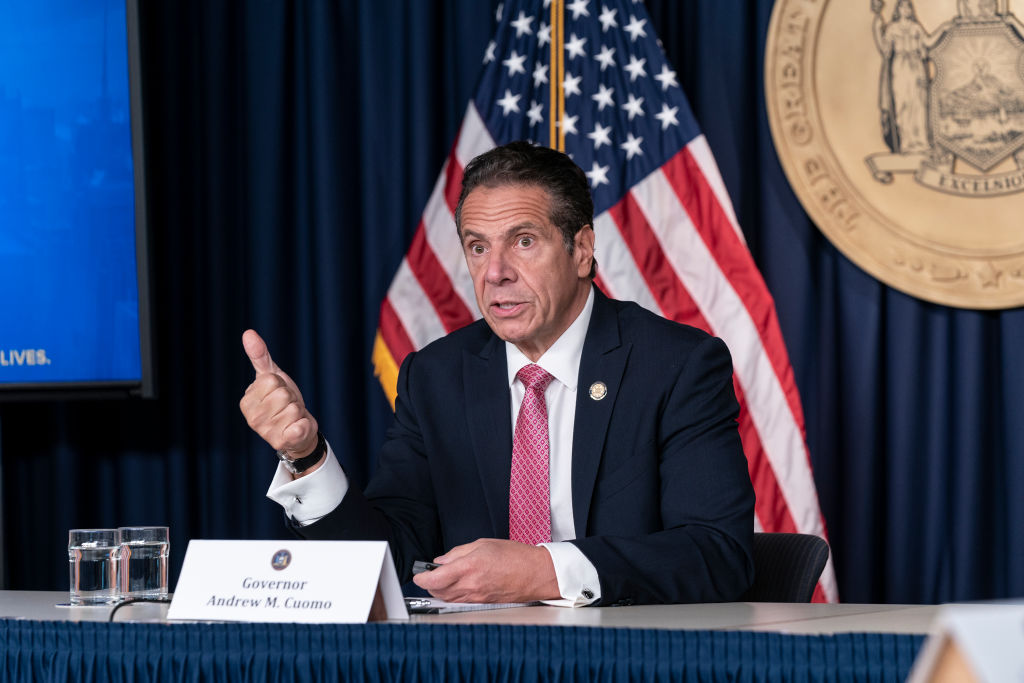 Cuomo declines to provide data on New York's COVID Alert app