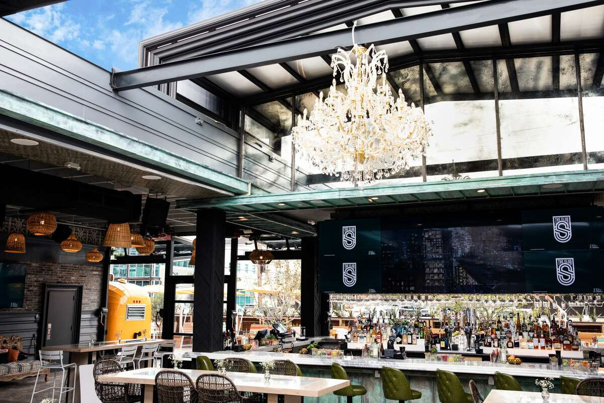 The owners of The Sugar room are opening a new dining and bar concept, The Sporting Club, at 5102 Washington. Shown: Retractable roof.