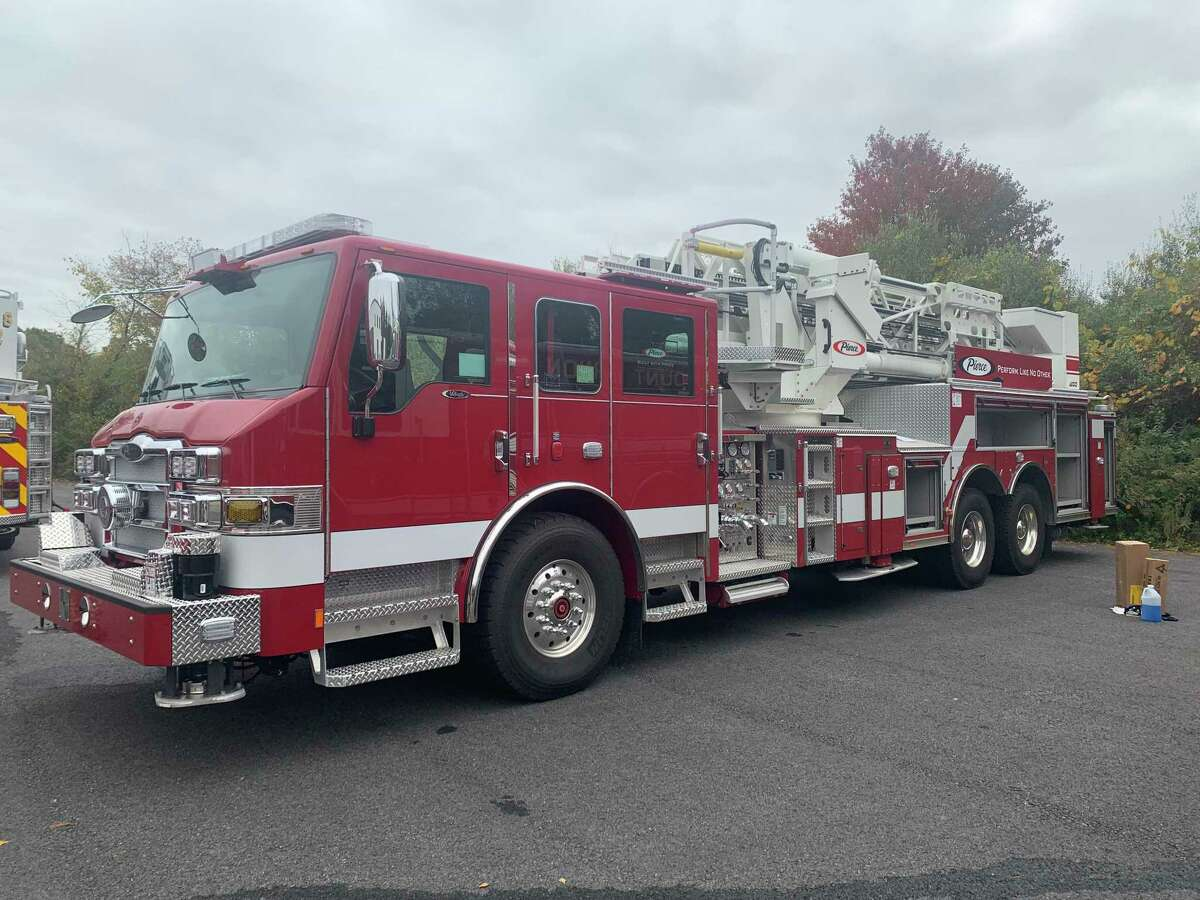 Shelton firefighters responded to a fire at a Mohegan Road home Thursday, Aug. 5, 2021.