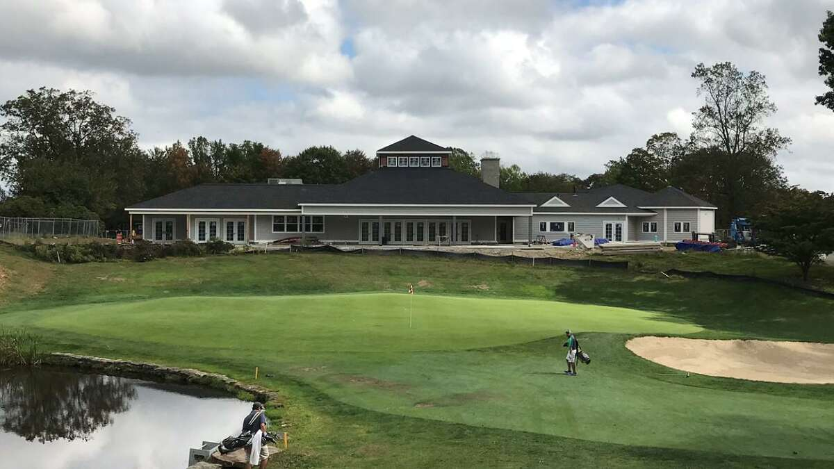 The new H. Smith Richardson Golf Course clubhouse.