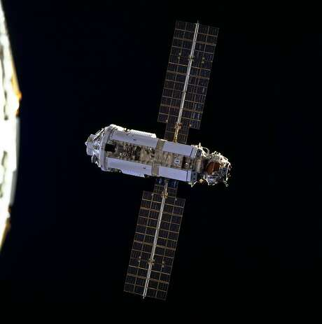 The Zarya Control Module was launched atop a Russian Proton rocket from Baikonur Cosmodrome, Kazakhstan, on Nov. 20, 1998. Zarya provides battery power, fuel storage and rendezvous and docking capability for Soyuz and Progress space vehicles. Photo: NASA