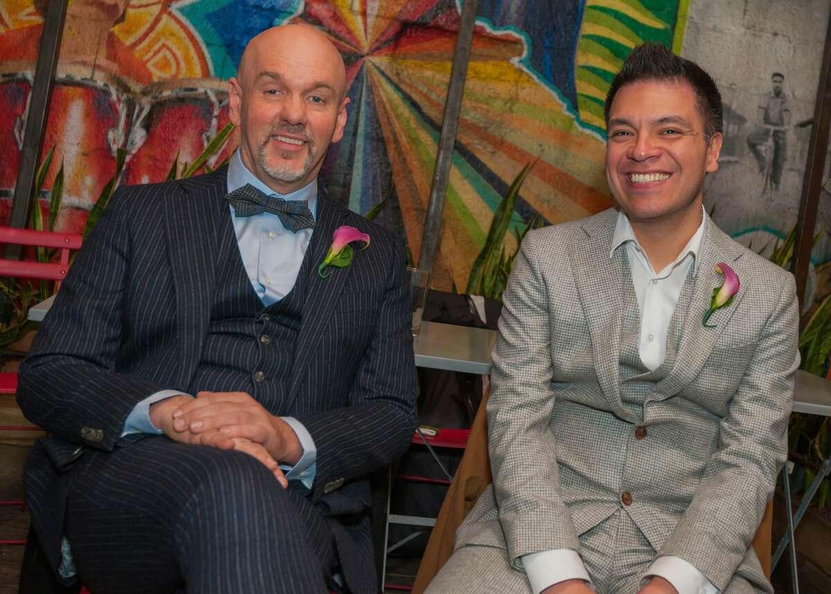 Scott Moore and Joey Guerra were married in 2014.