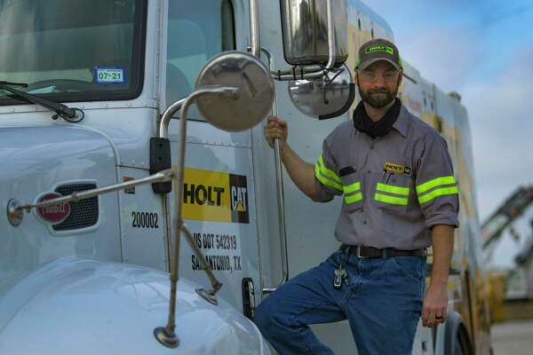 Nathan Smith recently left the Air Force. He has successfully transitioned into a job at Holt Cat, a supplier of Caterpillar heavy equipment.