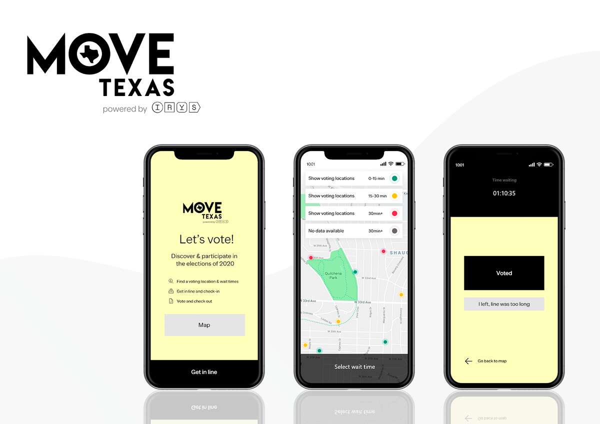 As of Thursday 326,280 Bexar County residents have voted in person ahead of the  Nov. 3 general election, but there's a new app making the process easier for those who haven't.
