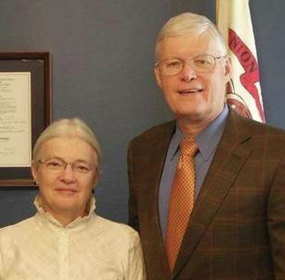 Anna and Bill Haine say the Democratic Party they have supported for decades is now attacking them because their son, Tom, is a Republican challenger to Democrat Crystal Uhe in the Nov. 3 Madison County State's Attorney's race.