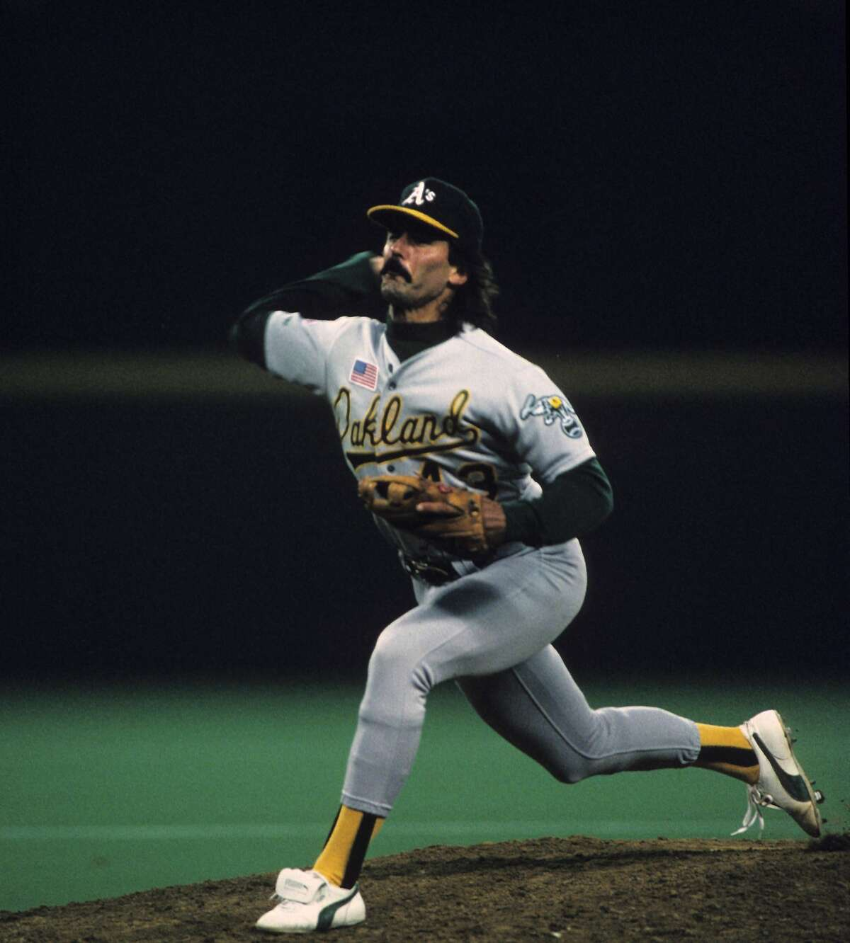Dennis Eckersley had a 0.61 ERA in 1990. But a player with six career hits scored the winning run on him in Game 2.