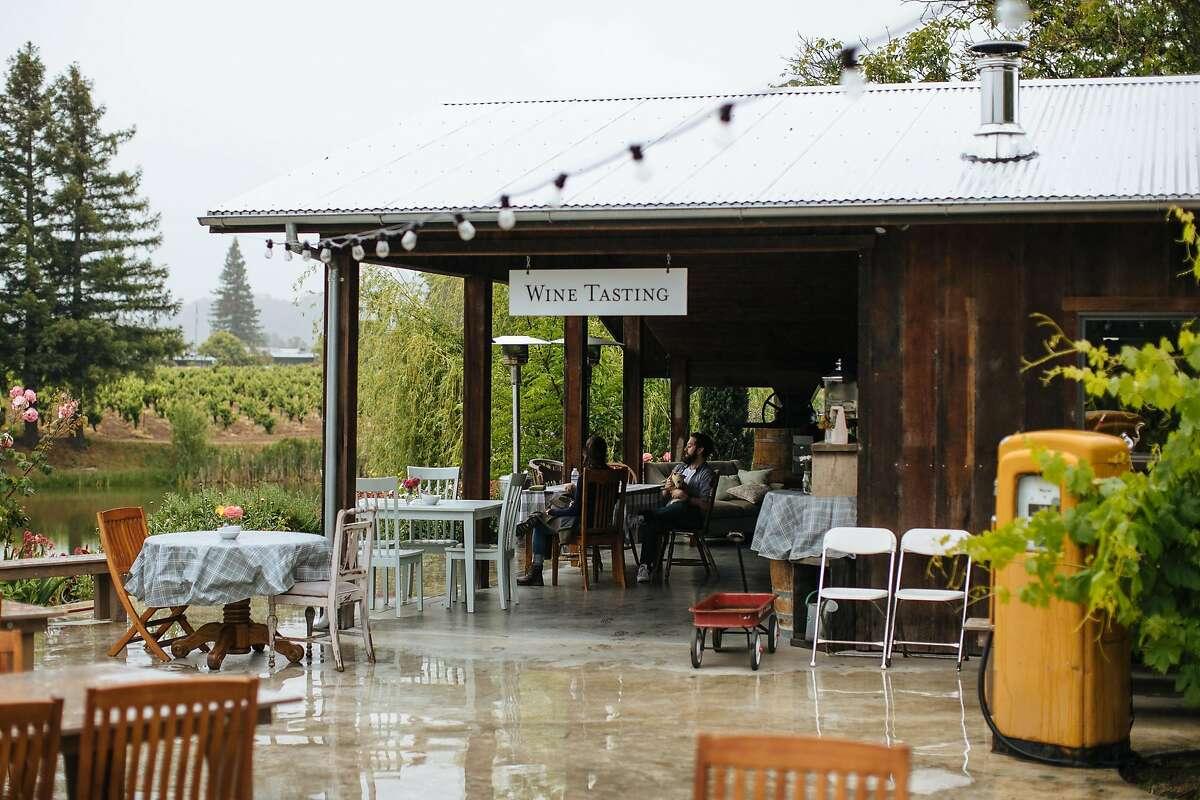 Testa Winery's tasting room in Calpella, Calif., Friday, May 25, 2018.