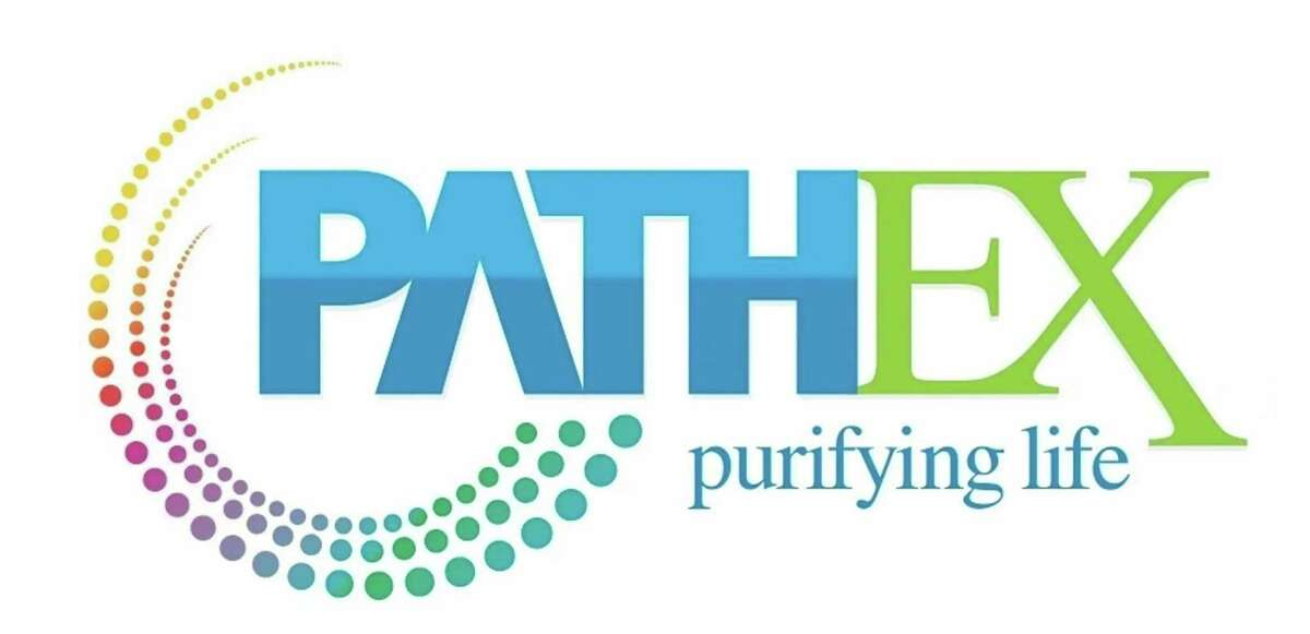The logo for Path Ex, a Houston-based startup developing a technology for extracting pathogens from the blood to treat and prevent sepsis.