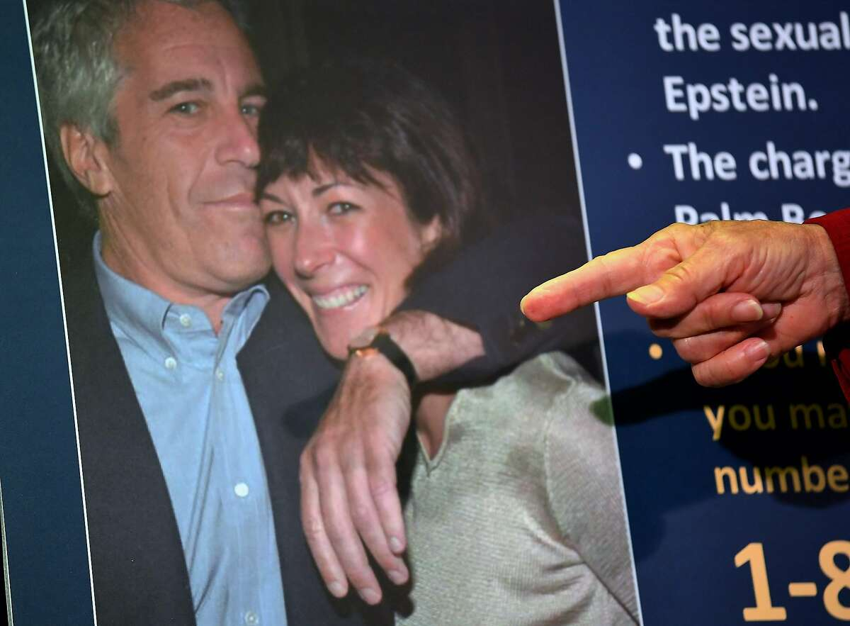 (FILES) In this file photo taken on July 02, 2020, Acting US Attorney for the Southern District of New York, Audrey Strauss, announces charges against Ghislaine Maxwell during a press conference in New York City. - Accused sex trafficker Ghislaine Maxwell repeatedly denied that she recruited underage girls for her former partner, the disgraced US financier Jeffrey Epstein, in a deposition released on October 22, 2020, that she had fought to keep secret. The denials form part of perjury charges brought against the British socialite, who is accused of grooming girls as young as 14 for Epstein, who killed himself in prison last year. (Photo by Johannes EISELE / AFP) (Photo by JOHANNES EISELE/AFP via Getty Images)