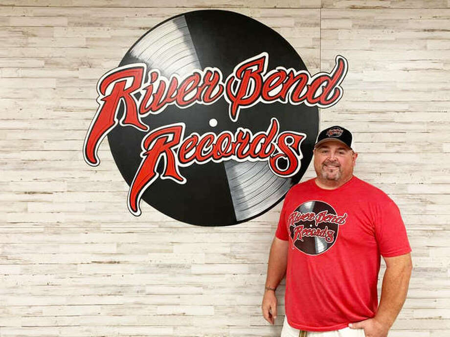 RiverBend Records, co-owned by Billy Hurst and his wife, Tara, of Godfrey, opens Saturday at 2720 Grovelin St., Suite B, in Godfrey. Photo: Front Row Photo|For The Telegraph