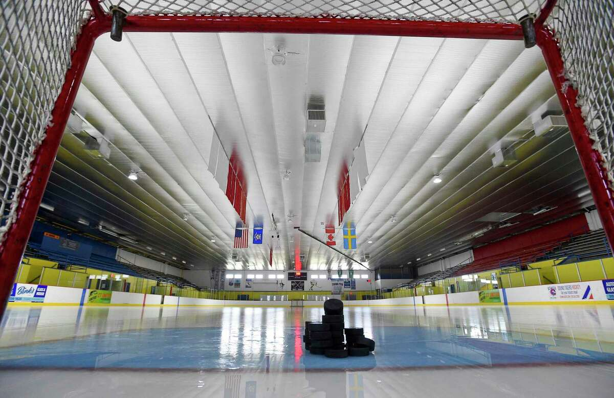 It remains to be seen if rinks like Terry Conners in Stamford will be hosting high school hockey games this season as teams await word from the CIAC.