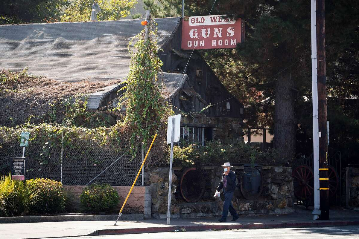 Old West Gun Room is seen in El Cerrito, Calif., on Thursday, Oct. 22, 2020.