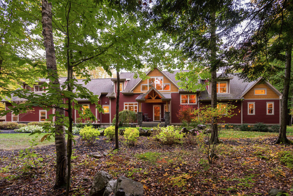 A timberframe home on 8.5 secluded acres in Greenfield Center. 4,268 square feet of living space, with another 2,234 in the basement. Five bedrooms, three and a half bathrooms. Contact listing agent Orson Klender, owner of Saratoga Real Estate Associates, at 518-588-2319. https://realestate.timesunion.com/listings/475-Greene-Rd-Greenfield-NY-12833-1916-MLS-202030172/45669411
